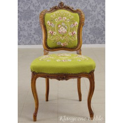 Krzesło Rokoko bogato rzeźbione. 5583