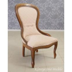 Fotel stylizowany damski. 5621