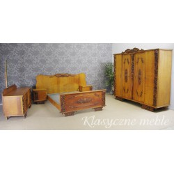 Stara sypialnia - komplet mebli. 5697