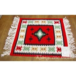 Bieżnik ręcznie tkany 100% wełna Tirana Albania. 5719