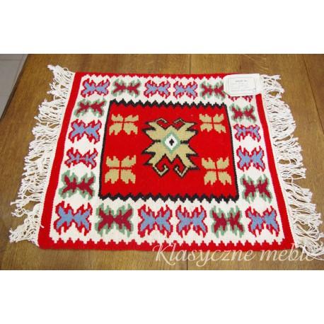 Bieżnik ręcznie tkany 100% wełna. 5722