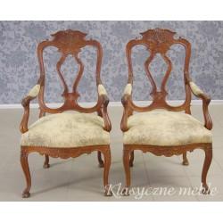 Fotel francuski, stary. Nowa tapicerka. Antyki Nysa 5848