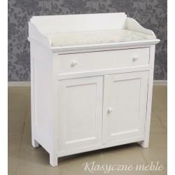 Komoda - toaletka z marmurowym blatem. Antyki Nysa. 5874