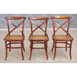 Krzesło kolonialne z giętego drewna. 5939