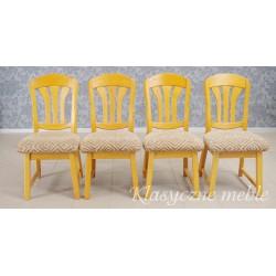 Krzesła dębowe kpl. 4 szt.. 5943