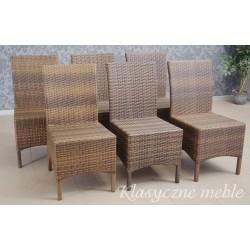 Krzesła tarasowe ogrodowe technorattan Hartman. 5950