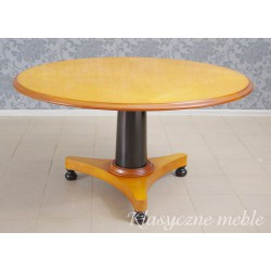 Stół i 6 krzeseł stylizowany na Biedermeier. 5953