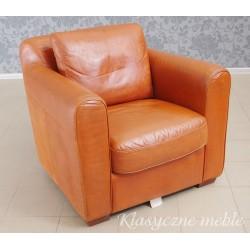 Fotel klubowy skóra naturalna 5987