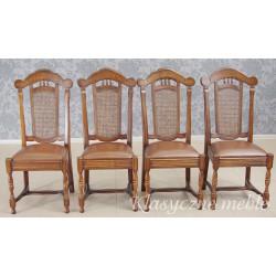 Krzesła dębowe kpl. 4 szt. 5866