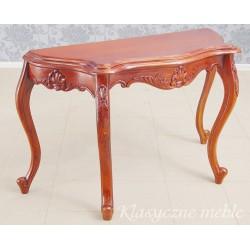 Konsola stylizowana drewno egzotyczne. 5893