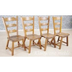 Krzesła dębowe masywne 6106