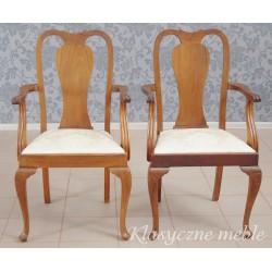 Krzesła angielskie 2 szt.