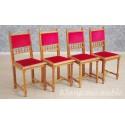 Krzesła eklektyczne XIX wiek komplet 8 szt. 6169