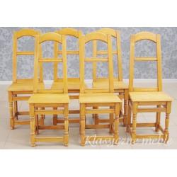 Krzesła stylizowane komplet 6 szt.. 6171
