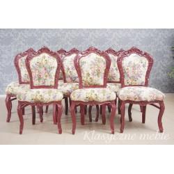 Krzesła neobarokowe 10 szt.