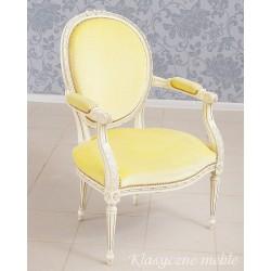 Fotel stylizowany ludwikowski 6226