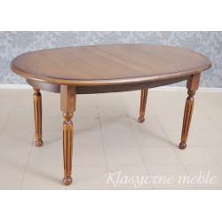 Stół dębowy, masywny, rozkładany. 6241