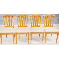 Krzesła stylizowane 4 szt. 6257