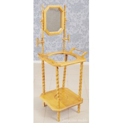 Toaletka drewniana, stojak 6254