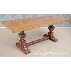 Stół z masywu drewna orzechowego. 6245