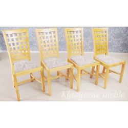 Krzesła z drewna egzotycznego 6261