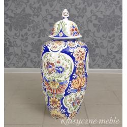 3452 Wazon porcelanowy wys. 75 cm Chiny Japonia