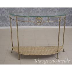 Metalowa konsola stolik