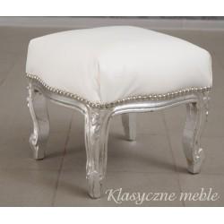 Pufa Podnóżek Glamour Vintage