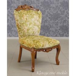 Krzesło neobarokowe - glamour