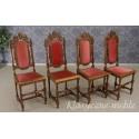 Krzesła eklektyczne z XIX w. Antyki Nysa