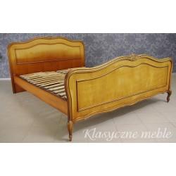 Łóżko stylizowane dwuosobowe