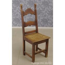 Krzesło drewniane, dębowe 1 szt.
