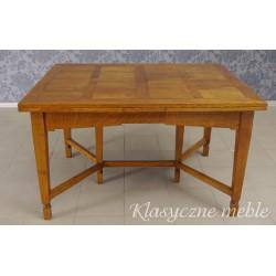 Stół dębowy rozkładany Secesja