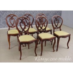 Krzesła piękne stare komplet 6 szt.