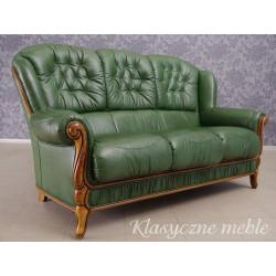 Kanapa stylizowana Sofa skóra naturalna. Meble Nysa