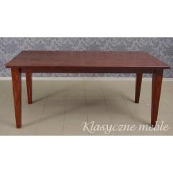Stół drewniany, dębowy. Nysa