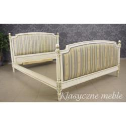 Łóżko dwuosobowe stylizowane drewniane 5237