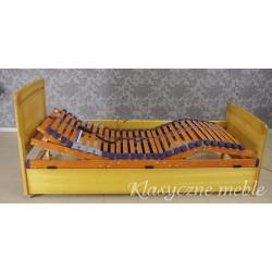 Łóżko jednoosobowe z wkładem regulowanym elektrycznie 5238