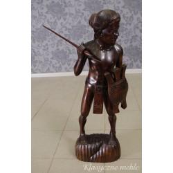 Figura Rzeźba drewno egzotyczne. Nysa