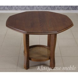 Stolik dębowy ława drewniana