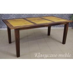 Stół kolonialny drewno egzotyczne