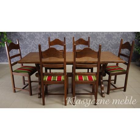 Komplet mebli stołowych