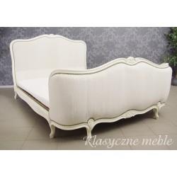 Łóżko dwuosobowe stylizowane 5375