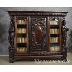 Biblioteka neorenesansowa Szafa gabinetowa. 5398