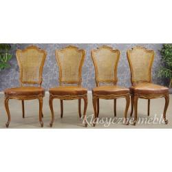 Krzesła neobarokowe, meble włoskie. 5498