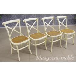 Krzesła kolonialne, stylizowane, wykonane z giętego drewna. Produkcja zachodnia. 5506