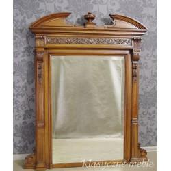 Stare, eklektyczne lustro w dębowej ramie XIX wiek. 5520
