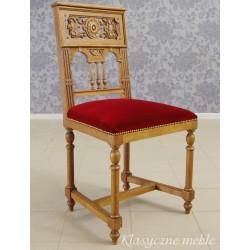 Krzesło Eklektyzm Secesja XIX/XX w. 5564