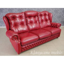 Kanapa angielska marki Springvale Leather. 5568
